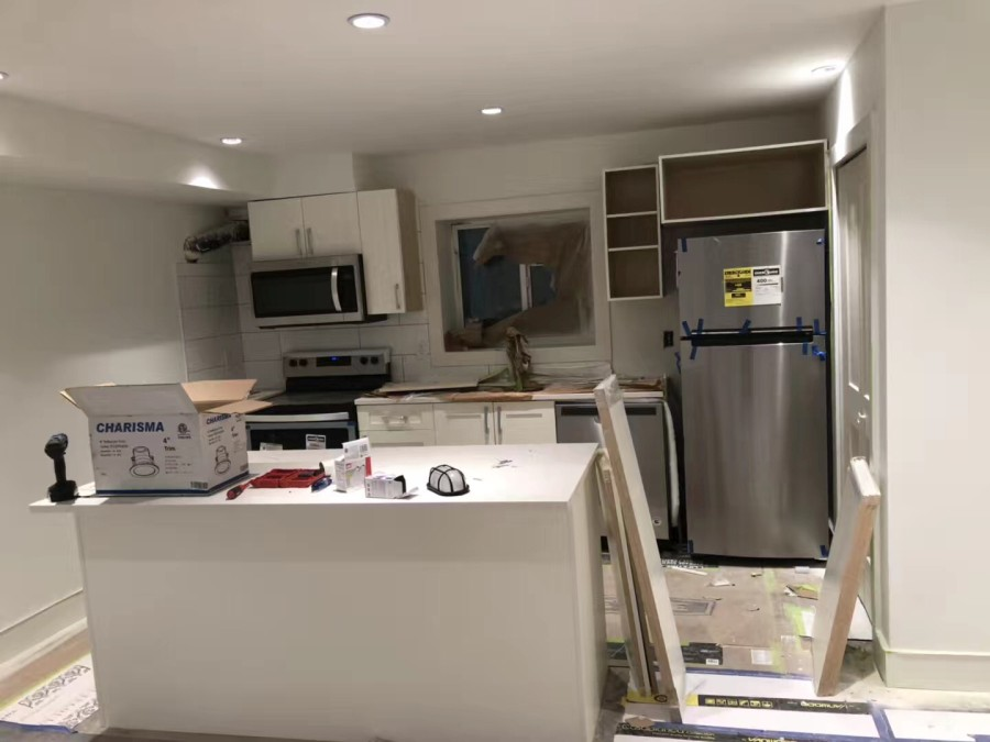 Basement Kitchen Vanstop Contracting Kitchen Cabinets